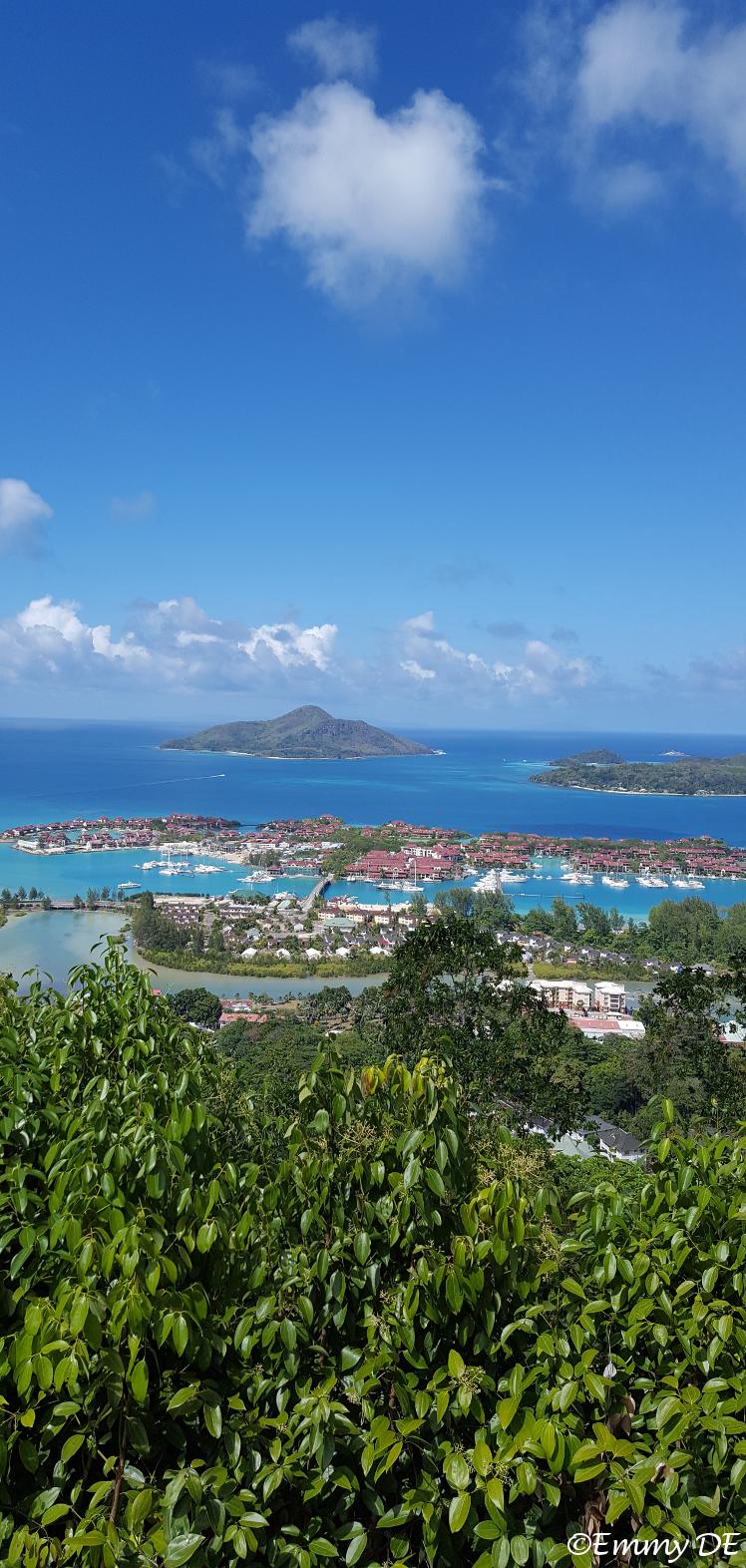 View of luxury Eden Island ~ Mahé ~ Seychelles by ©Emmy DE