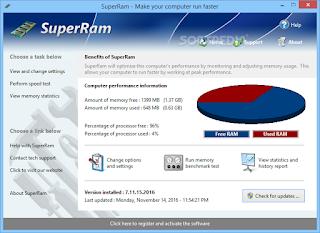 برنامج سوبر رام لتسريع الرامات SuperRam 2020 للكمبيوتر