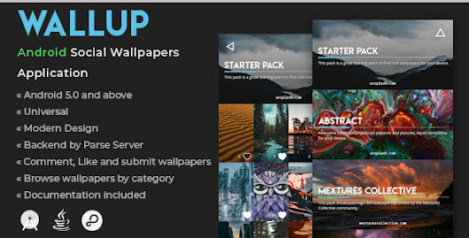 WallUp | Android Social Wallpapers Application