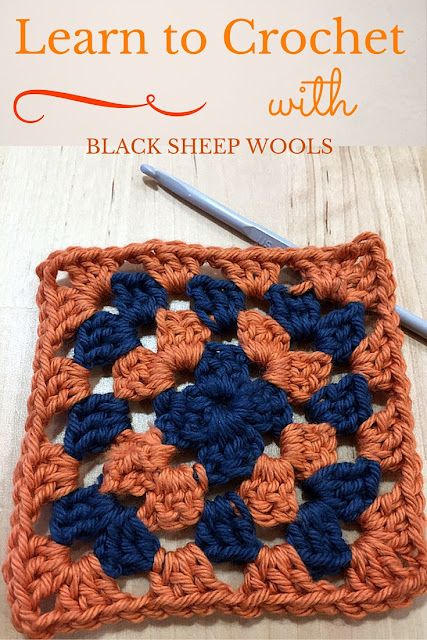 Learn to Crochet with Black Sheep Wools