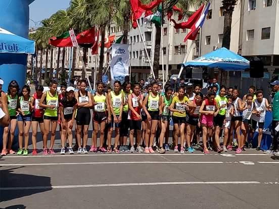 نادي برشيد لألعاب القوى يضرب بقوة في بطولة المغرب للمشي الأولمبي