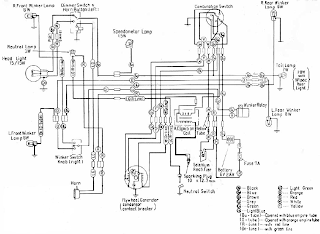 Honda C100 Wiring Diagram on honda qa50 wiring diagram
