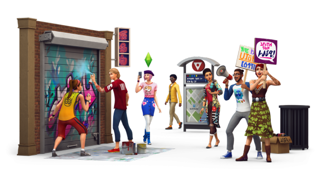 the sims 4 city life