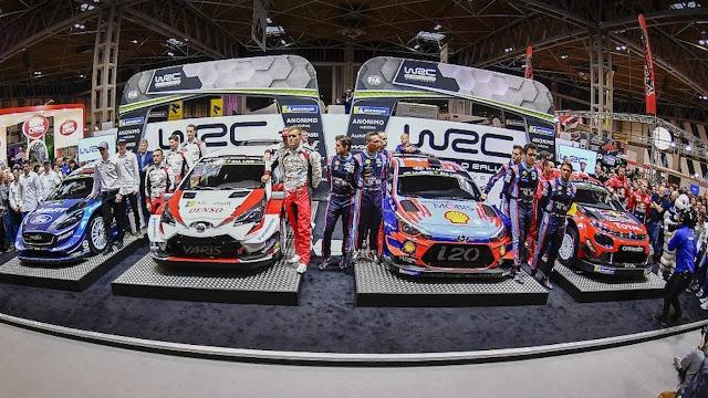 WRC calendar 2020