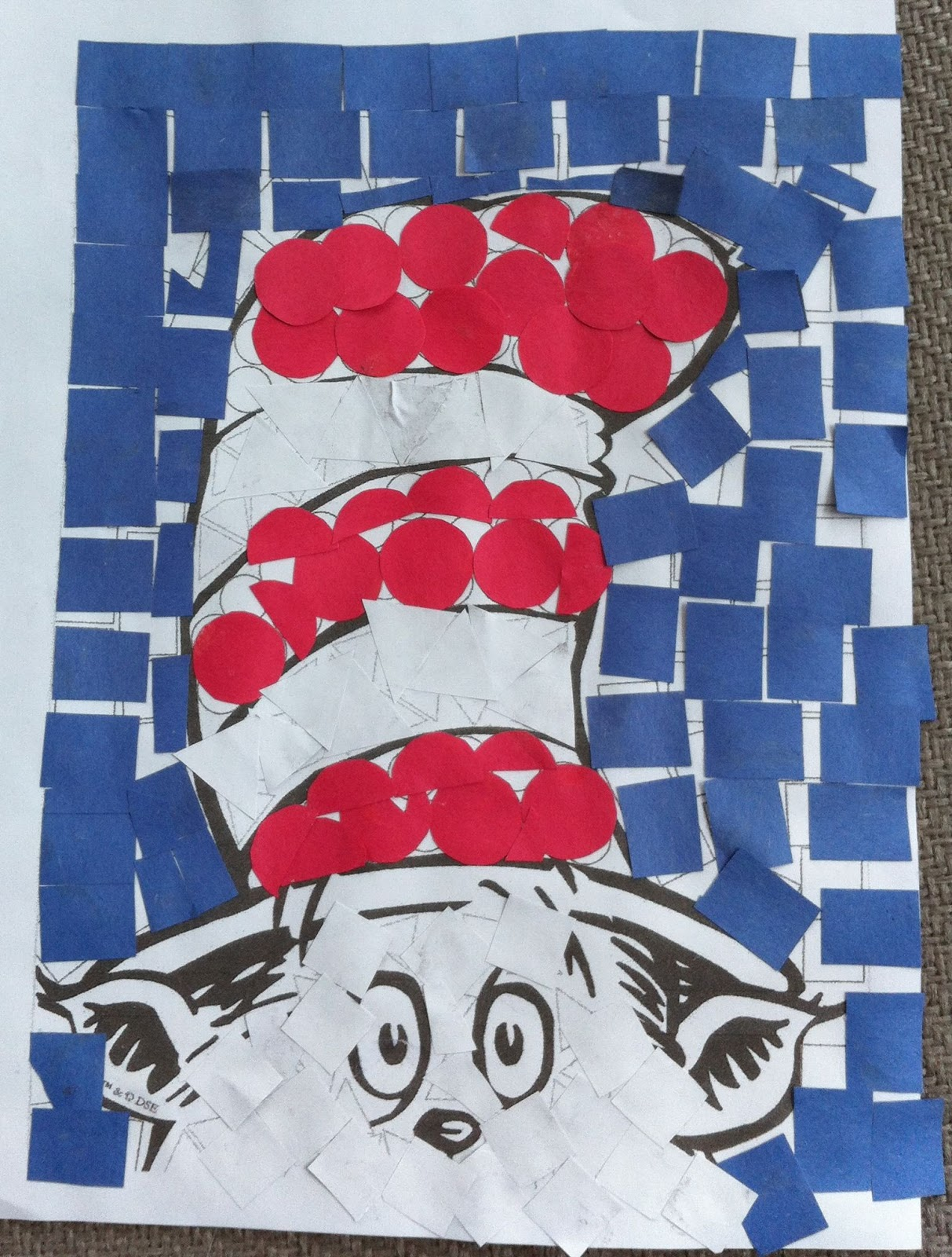 Fabiana Carter The Cat In The Hat Mosaic