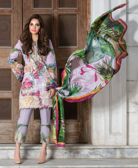 Crimson Luxury Eid Lawn Collection 2017