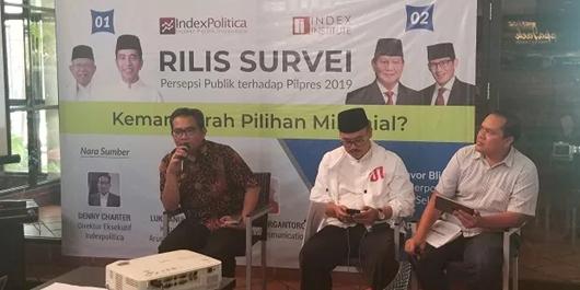 Survei IndexPolitica Ungkap Alasan Milenial Lebih Pilih Jokowi-Ma'ruf