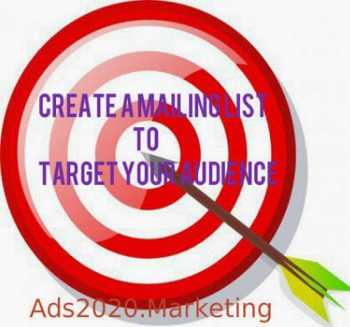 Create-a-mailing-list-of-subscribers-to-target-your-audience