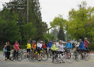 The largest part of the group assembled in Campbell, California.