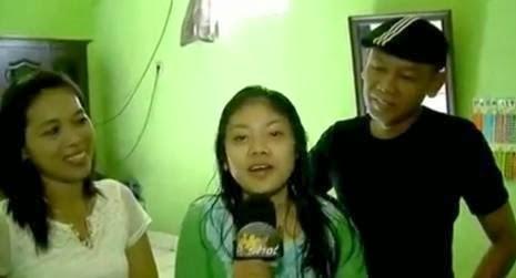 Foto Ucup Nirin, Istri dan Anaknya