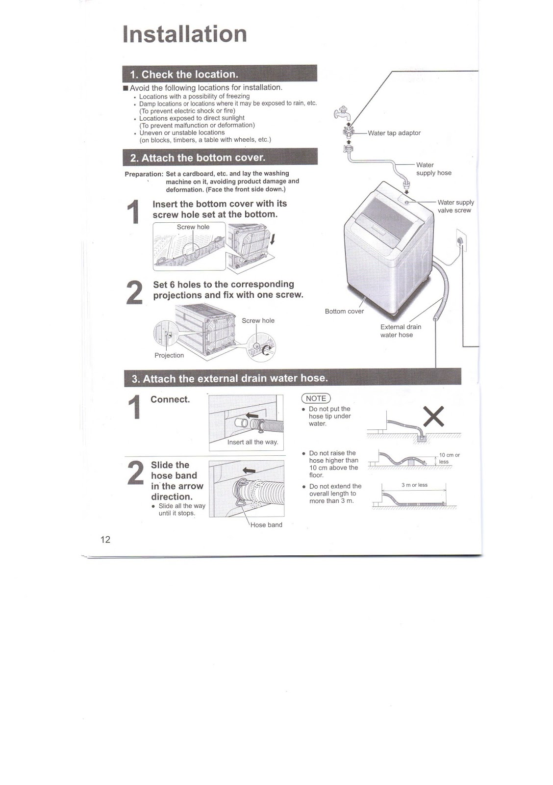 Healthy Living 123 Panasonic Washing Machine Na F75s7 Operating And Wiring Diagram Pdf Below Is Page 12