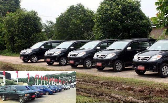 KPK Sarankan Puluhan Mobil Dinas Anggota DPRD Banten Ditarik, Karena diduga Melanggar Aturan