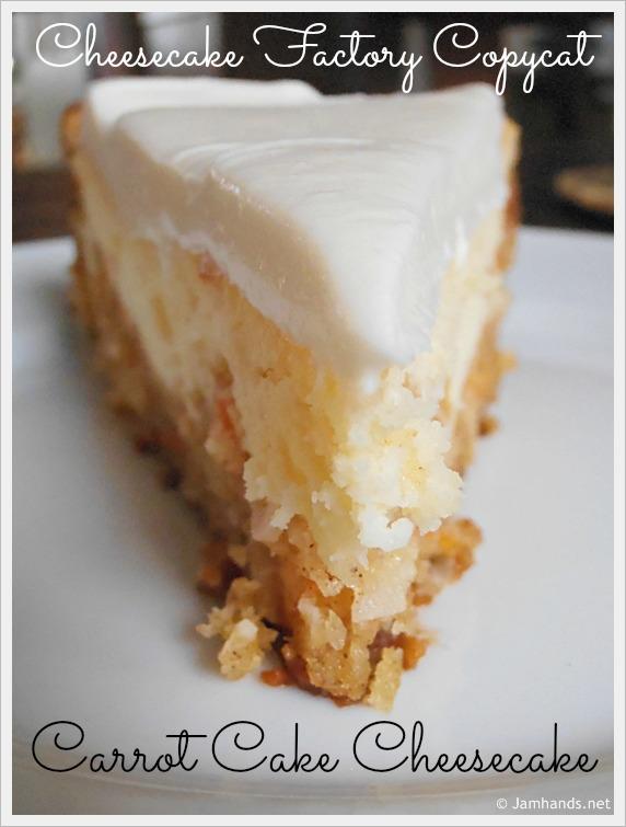 Cheesecake Factory Carrot Cake Recipe