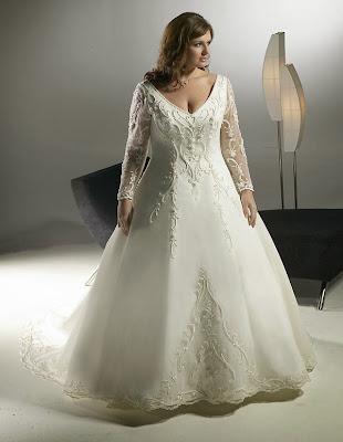 Fotos de vestido de noiva para gordinhas