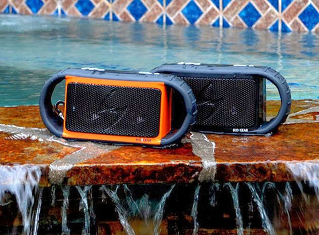 Ecoxgear Ecoxbt Waterproof Wireless Bluetooth Speaker