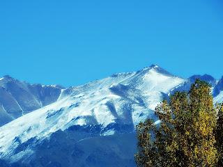 Vista da Cordilheira dos Andes, em Uspallata
