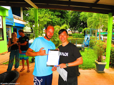 Testimonial by Dominic Sennhauser of the March/April 2017 PADI IDC on Koh Lanta, Thailand