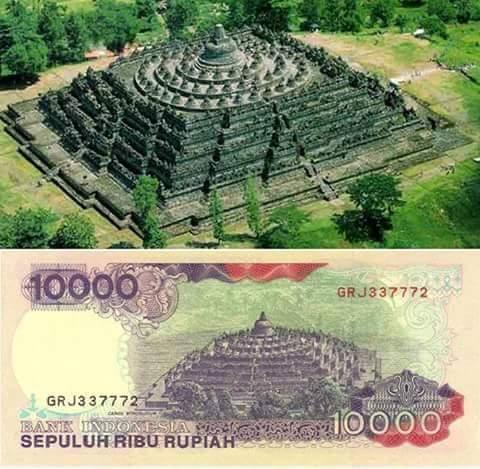 uang 10 ribu borobudur