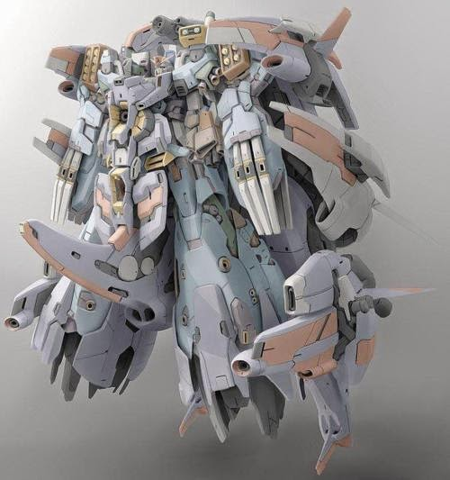 Some Overkill Gundam Designs - Fan Made and Official Images