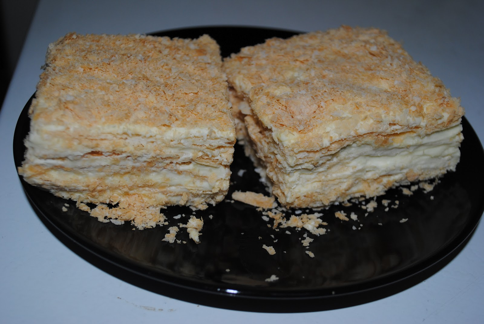How Much Is 4 Quarts >> Mila's recipes: Napoleon cake (Russian-French recipe)