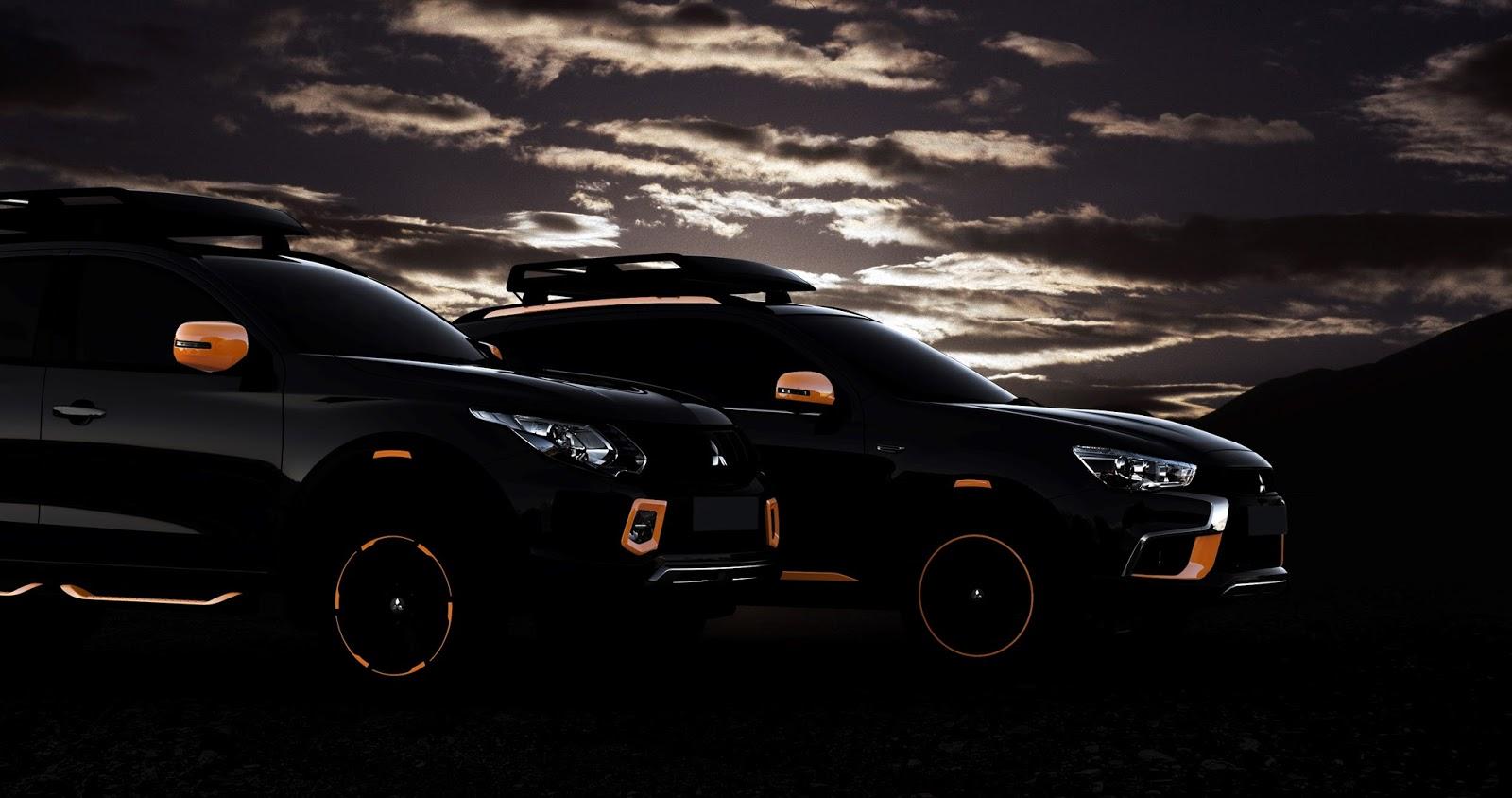 ASX%2526L200 H Mitsubishi εστιάζει στα SUV και τα παρουσιάζει στην Έκθεση Αυτοκινήτου της Γενεύης Mitsubishi, Mitsubishi ASX, MITSUBISHI eX-Concept, Mitsubishi L200, Mitsubishi Motors, SUV, Σαλόνι Αυτοκινήτου