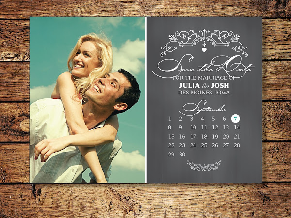 J + J - Save the Date