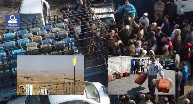 أزمة الوقود والغاز والكهرباء تعصف بالنظام السوري والحل لدى الإدارة الذاتية شرق الفرات ؟