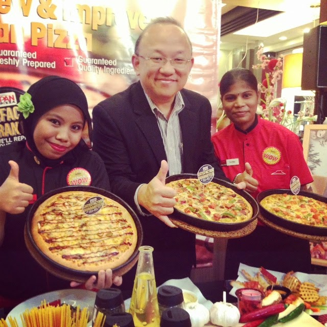 PIZZA TAMPIL 18 RESIPI & 16 'TOPPING' BAHARU