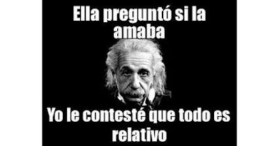 Frases graciosas Einstein