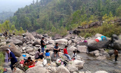 Picnic spot at Jogighat Steel bridge and Riyang Khola