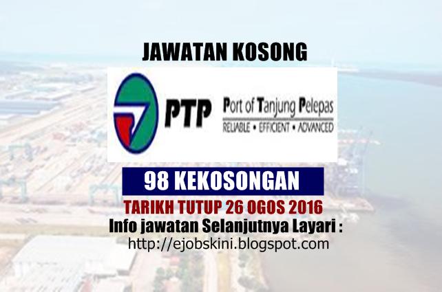 jawatan kosong di pelabuhan tanjung pelepas ogos 2016