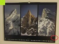 Fingerabdrücke: Laurent Pinsard 2016 - Triplets Posterkalender Naturkalender quer - 64 x 48 cm