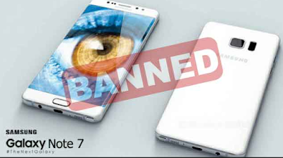 Rwanda Bans Galaxy Note 7 With Immediate Effect.