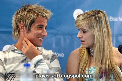 Fábio Coentrão and his wife Andreia Santos