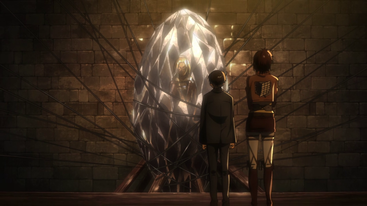 Goongala S Grumbles Attack On Titan Ep 25 Something S Odd About Those Walls
