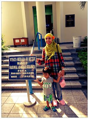 berkah ramadan di masjid al akbar Surabaya