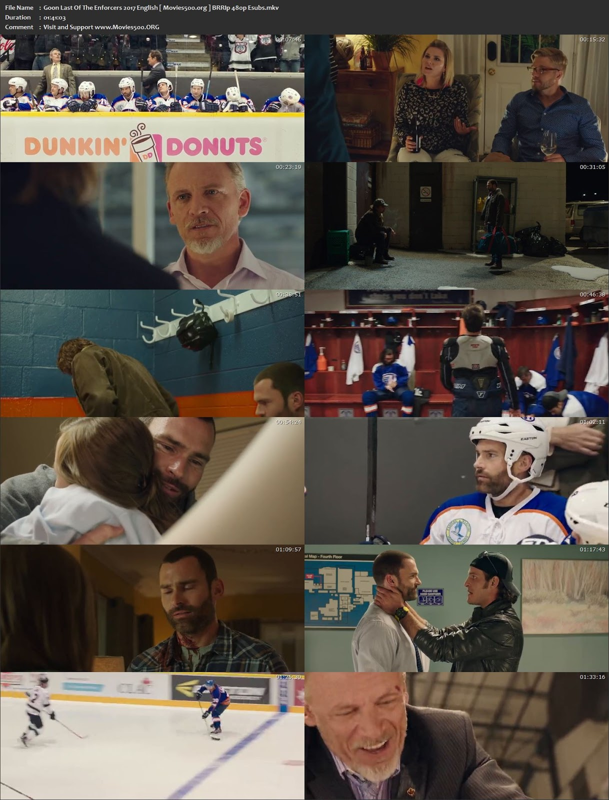 Goon Last of the Enforcers 2017 Hollywood 300MB BluRay 480p at movies500.info
