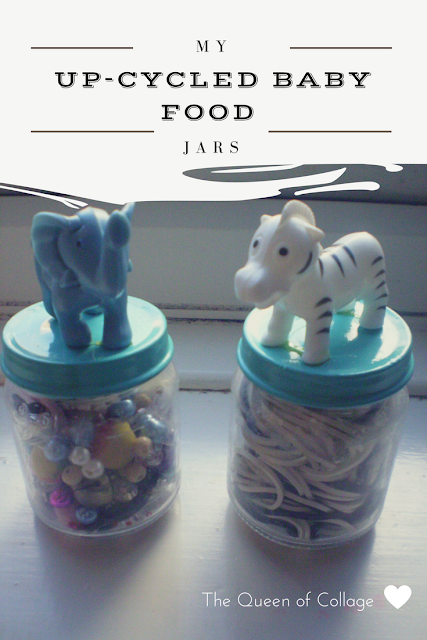 My Up-cycled Baby Food Jars