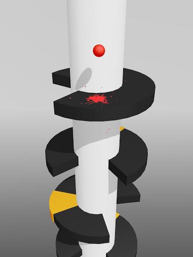Helix Jump sepertinya identik dengan tema game berputar di sekitar bola, seperti Fire Up, Twisty Road atau Splashy.