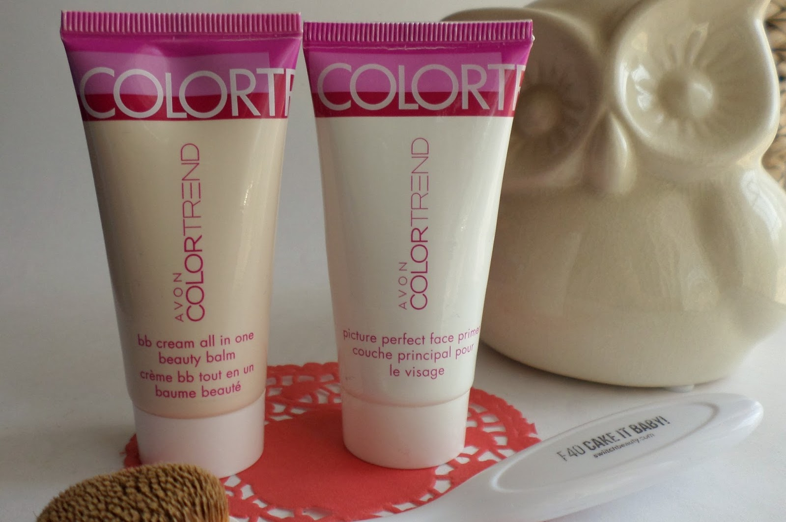 Pink Purple Dots Review Avon Colortrend Bb Cream All In One City Color Holo Primer Oil Beauty Balm Picture Perfect Face