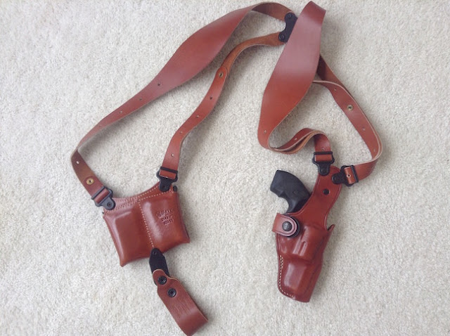 The Next Chapter: Review of GALCO VHS Vertical Shoulder Holster ...