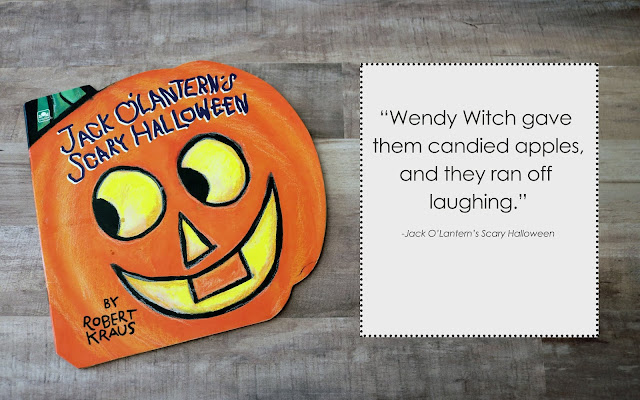 Jack O'Lantern Scary Halloween Book