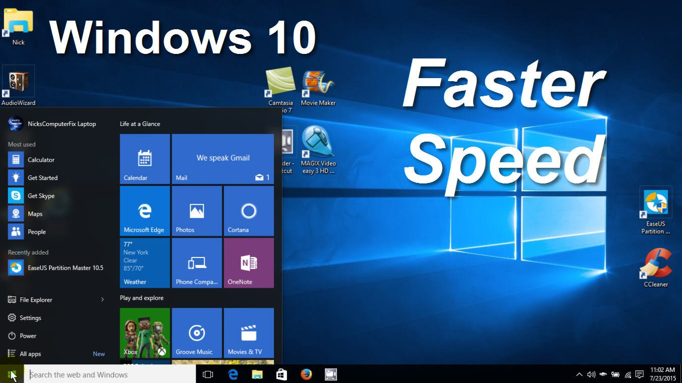 top 7 tips to optimize windows 10 for better performance wizytechs free browsing games. Black Bedroom Furniture Sets. Home Design Ideas