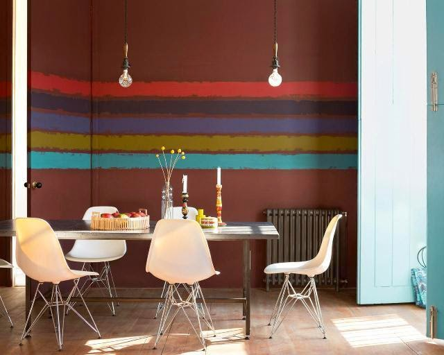 Wall paint ideas for dining room for Interior painting ideas for dining room