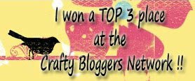 Top 3 at Crafty Bloggers Network