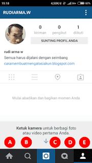 buat akun instagram lewat hp biasa