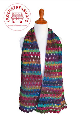 Dew Drop Wrap Free Crochet Pattern : Crochet Treasures: Dew Drop Wrap