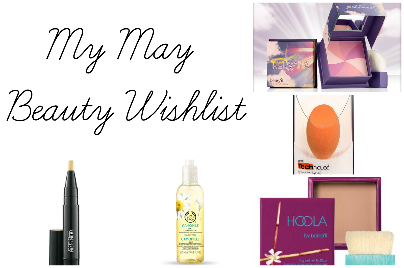 May Beauty Wishlist