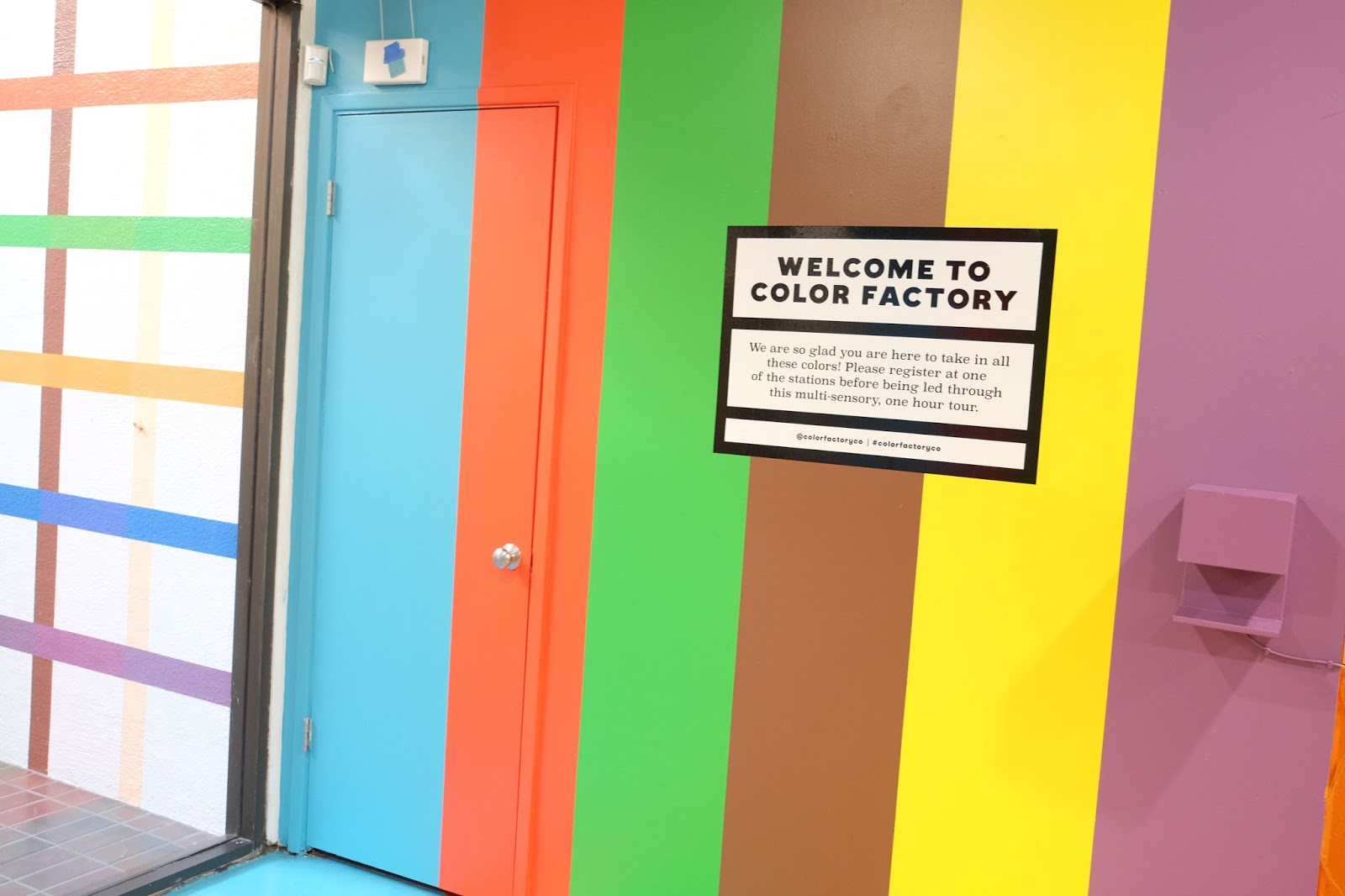 The Color Factory!!