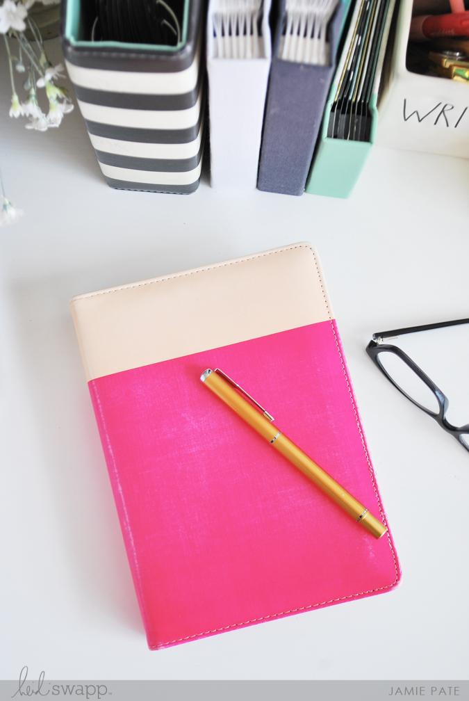 Heidi Swapp Memory Keeping Planner for the Everyday Work by Jamie Pate     @jamiepate for @heidiswapp